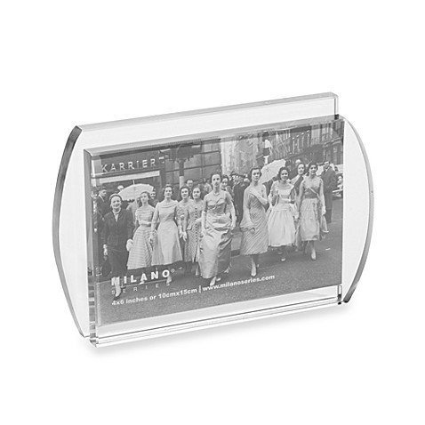 Intersect 4-Inch x 6-Inch Glass Frame