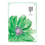 Double Acrylic 5-Inch x 7-Inch Frame in Green
