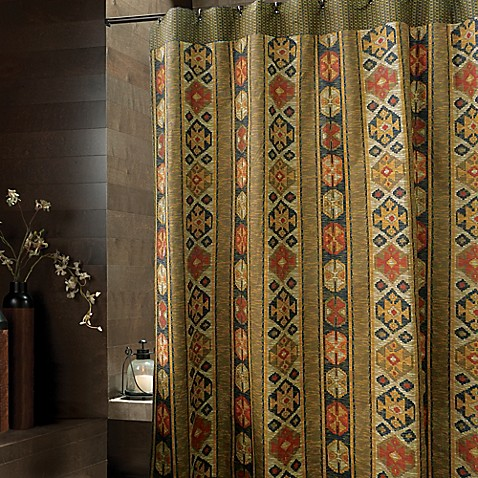 Average Shower Curtain Dimensions Pendleton Print Shower Curtain