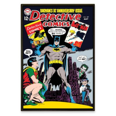Batman DC Comic Book Wall Art
