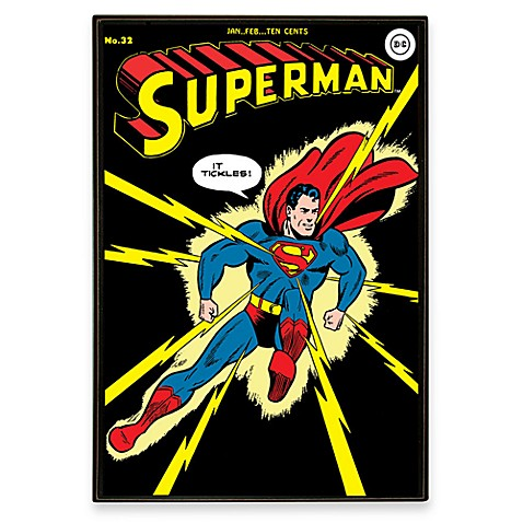 Superman DC Comic Book Wall Art