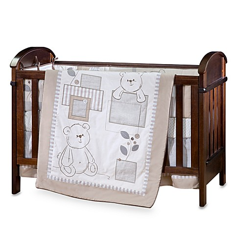 Living Textiles Baby - Lil' Sprout 5-Piece Crib Bedding Set