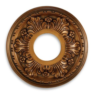 ELK Lighting Acanthus Medallion in Antique Bronze