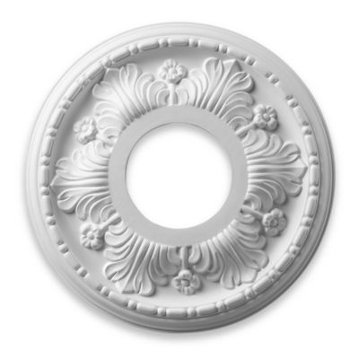 ELK Lighting Acanthus Medallion in White