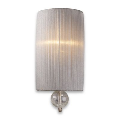 ELK Lighting Alexis 1-Light Sconce in Antique Silver