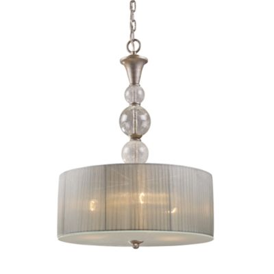 ELK Lighting Alexis 3-Light Pendant in Antique Silver