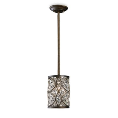 ELK Lighting Amherst 1-Light Pendant in Antique Bronze