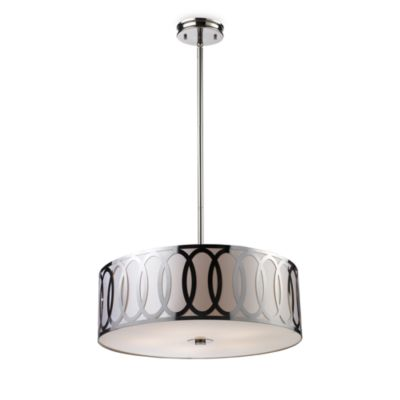 ELK Lighting Anastasia 5-Light Pendant in Polished Nickel