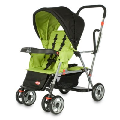 Joovy® Caboose Stand-On Double Stroller in Appletree - from Joovy®