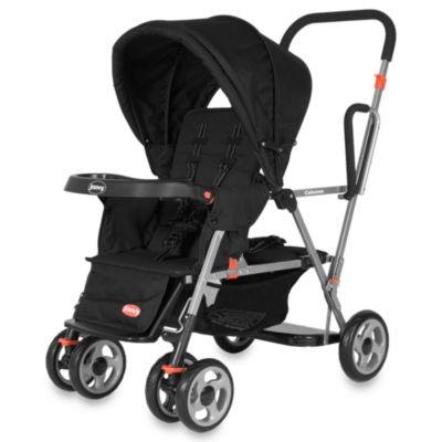 Joovy® Caboose Stand-On Double Stroller in Black