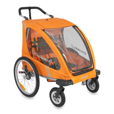 Joovy® CocoonX2 Double Stroller in Orangie