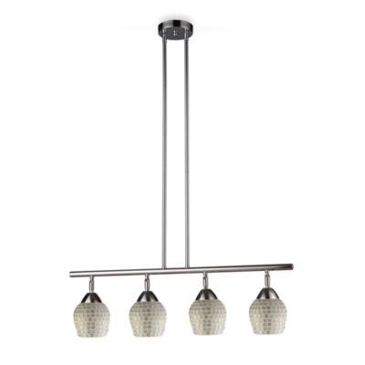 ELK Lighting Celina 4-Light Linear Light in Polished Chrome/Silver