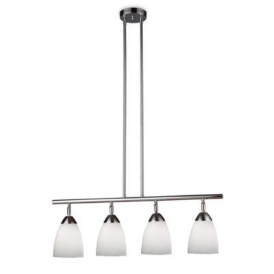 ELK Lighting Celina 4-Light Linear Light in Polished Chrome/Simple White