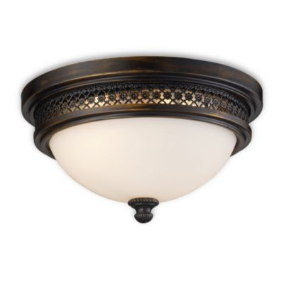 Deep Rust Ceiling Lights