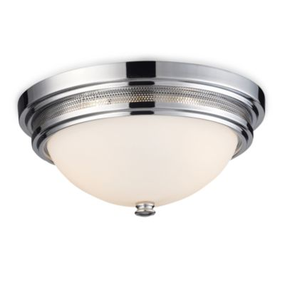 ELK Lighting Flush Mount 2-Light Fixture in Polished Chrome