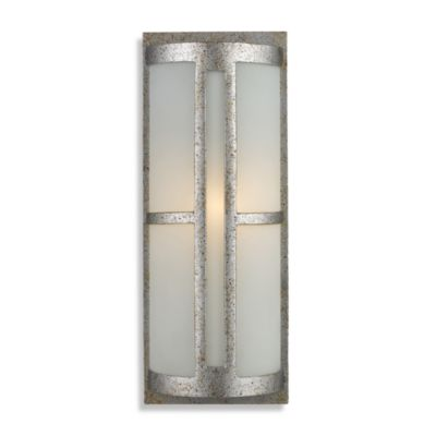 Martini Glass Wall Sconces : Buy ELK Lighting Martini Glass 2-Light Wall Bracket in SIlver Leaf and Frosted Martini Glass ...