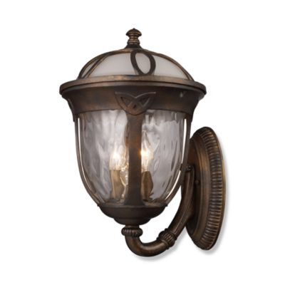 ELK Lighting Windsor 3-Light Outdoor Sconce in Hazelnut Bronze