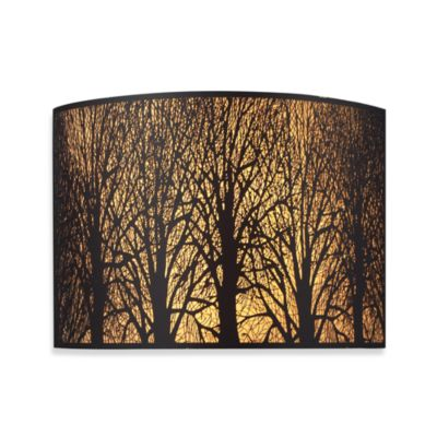 ELK Lighting Woodland Sunrise 2-Light Sconce in Aged Bronze