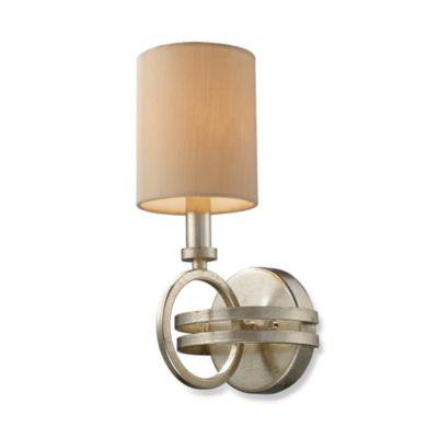 ELK Lighting New York 1-Light Sconce in Renaissance Silver