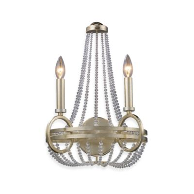ELK Lighting Trump Home™ Central Park™ New York 2-Light Sconce in Renaissance Silver
