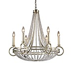 ELK Lighting New York 6-Light Chandelier in Renaissance Silver