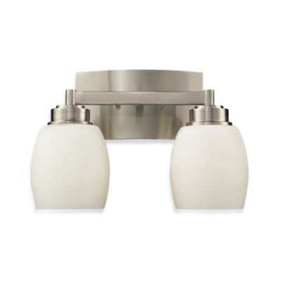ELK Lighting Northport 2-Light Vanity in Satin Nickel