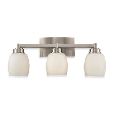 ELK Lighting Northport 3-Light Vanity in Satin Nickel