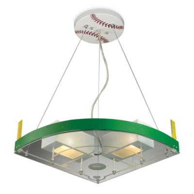 ELK Lighting Novelty 2-Light Baseball Field Pendant in White