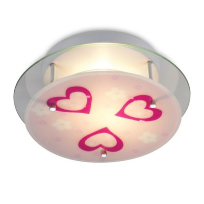 ELK Lighting Novelty 2-Light Heart Semi-Flush Fixture