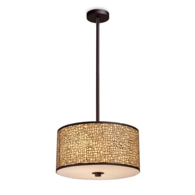 ELK Lighting Medina 3-Light Pendant in Aged Bronze