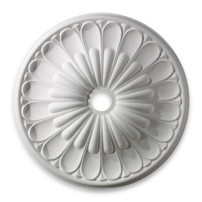 ELK Lighting Melon Reed 32-Inch Medallion in White Finish