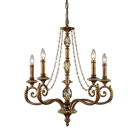 ELK Lighting Montavilla 5-Light Chandelier (Spanish Bronze)