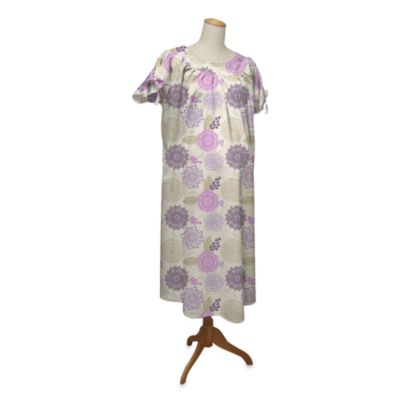 Peanut Shell Hospital Gown