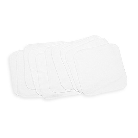 Spasilk®  10-Pack Washcloths in White