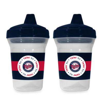Baby Fanatic® MLB® Sippy Cup 2-Pack in Minnesota Twins
