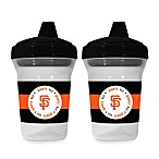 Baby Fanatic® MLB® Sippy Cup 2-Pack in San Francisco Giants