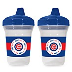 Baby Fanatic® MLB® Sippy Cup 2-Pack in Chicago Cubs