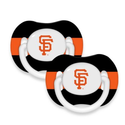 Baby Fanatic® MLB® Pacifier 2-Pack in San Francisco Giants