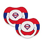 Baby Fanatic® MLB® Pacifier 2-Pack in Philadelphia Phillies