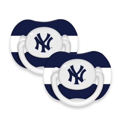 New York Yankees Baby Fanatic® MLB® 2-Pack Pacifier
