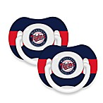 Baby Fanatic® MLB® Pacifier 2-Pack in Minnesota Twins