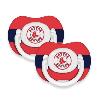 Baby Fanatic® MLB® Pacifier 2-Pack in Boston Red Sox