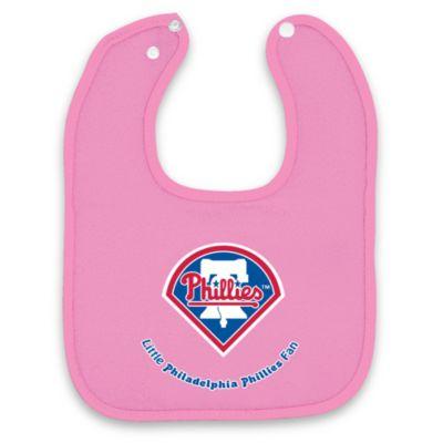 MLB® Pink Baby Bibs in Philadelphia Phillies