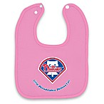 MLB® Pink Baby Bibs in Philadelphia Phillies