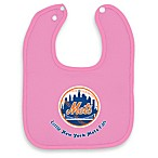 MLB® Pink Baby Bibs in New York Mets