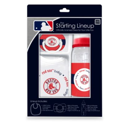 Boston Red Sox Baby Feeding Gift Set