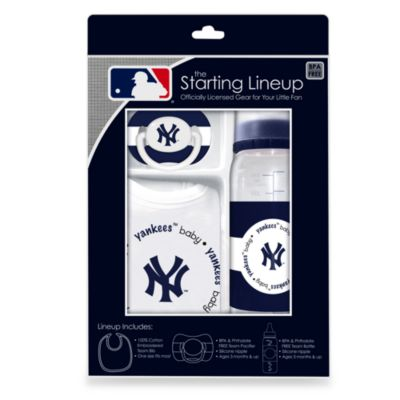 New York Yankees Baby Feeding Gift Set