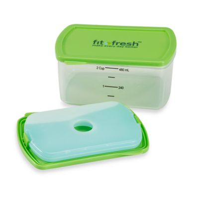 MEDport® Fit & Fresh™ 4-Pack Smart Portion™ 2-Cup Chill Containers