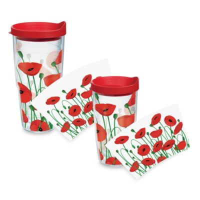 Tervis Tumbler Poppies 24-Ounce Tumbler