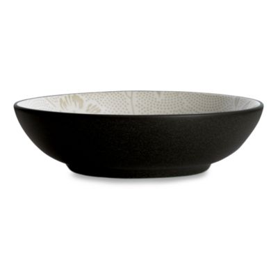 Noritake Colorwave Graphite Bloom 9 1/2-Inch Vegetable Bowl